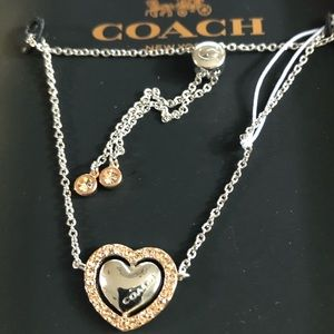 Coach - NWT Halo Heart Chain Bracelet